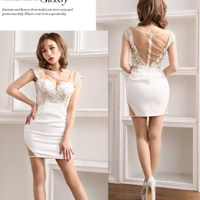 ROBE(ローブ)のROBE de FLEURS Glossy ドレス レディースのフォーマル/ドレス(ナイトドレス)の商品写真