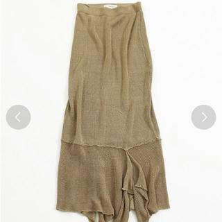 TODAYFUL - todayful リネンニットスカート
