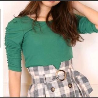 ダズリン(dazzlin)のdazzlinカットソーグリーン(Tシャツ/カットソー(半袖/袖なし))