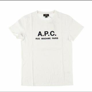 A.P.C - APC  a.p.c.  アーペーセー  ロゴ刺繍Tシャツ L