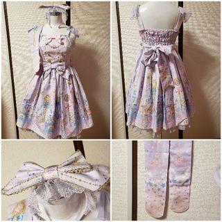 Angelic Pretty - Angelic Pretty Magic PrincessナポレオンJSKセット