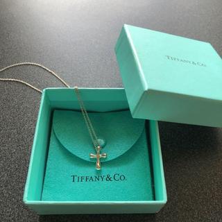 Tiffany & Co. - ティファニー クロス ペンダント 美品