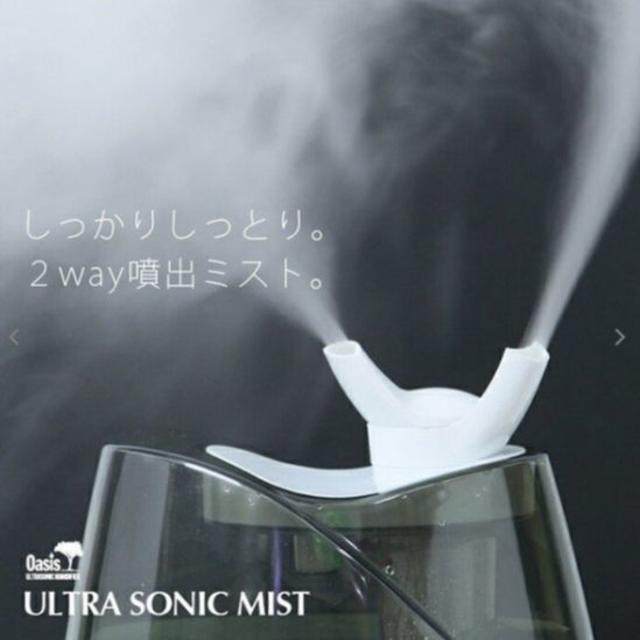 超音波加湿器 次亜塩素酸水対応 大容量4Lタンク スマホ/家電/カメラの生活家電(加湿器/除湿機)の商品写真