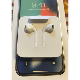 Apple - 新品 アップル 純正 iPhone X 付属品 イヤホン
