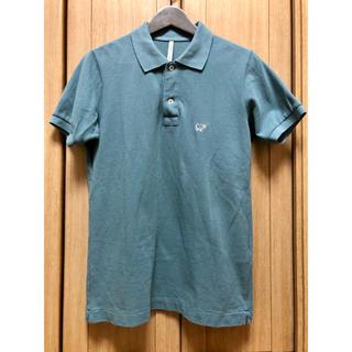 サイ(Scye)の【値下げ】SCYE BASICS ポロシャツ グリーン 40 サイ 鹿の子(ポロシャツ)