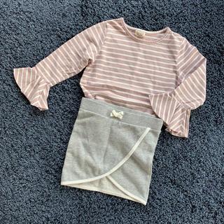 H&M - 女の子子供服上下セット 韓国子ども服 H&M 100cm
