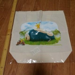 ポケモンセンターオンライン トートバッグ ピカチュウ カビゴン(キャラクターグッズ)