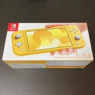 Nintendo Switch - 新品未使用 任天堂 Nintendo Switch Lite 本体 イエロー b
