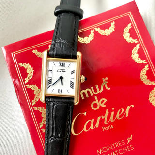 Cartier - 美品✨ カルティエ Cartier マストタンク 腕時計 レディース