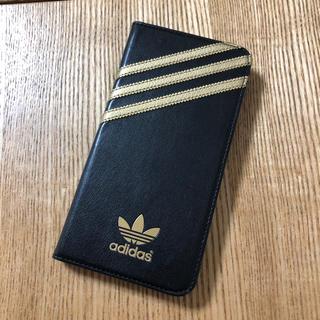 アディダス(adidas)のiPhone ケース 手帳型(iPhoneケース)