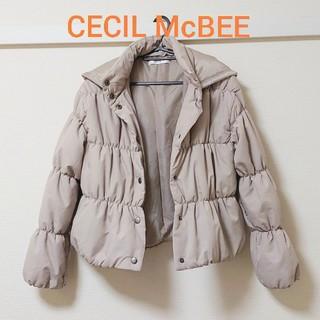 セシルマクビー(CECIL McBEE)の新品◇CECIL McBEEダウンジャケット(ダウンコート)