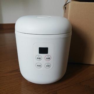 ムジルシリョウヒン(MUJI (無印良品))の無印良品 炊飯器1.5合(炊飯器)