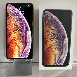 Apple - iPhone XS MAX GOLD 256 GB SIMフリー 美品 その他