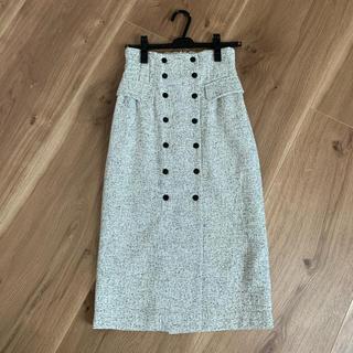 COCO DEAL - COCODEAL ハイウエストツイードタイトスカート