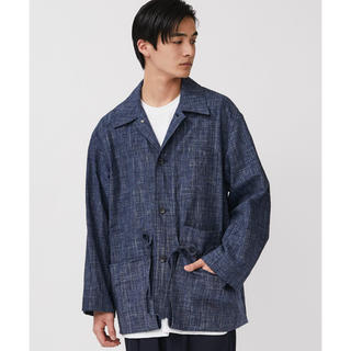 undecoreted カゴ染めハンティングジャケット