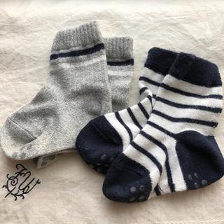 ムジルシリョウヒン(MUJI (無印良品))の無印 13-15㌢ 靴下2足セット(靴下/タイツ)