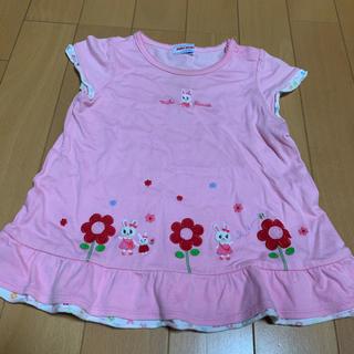 mikihouse - ミキハウス うさこチュニックTシャツ