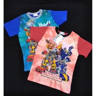 Takara Tomy - 【新品】トミカ絆合体 アースグランナー Tシャツ(各120サイズ、合計2枚)