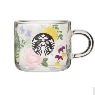 Starbucks Coffee - スターバックス  マグカップ スタバ フローラル