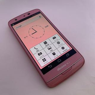 エヌイーシー(NEC)の☆docomo☆N-06E ピンク☆RS03 4017(スマートフォン本体)