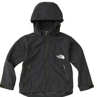 THE NORTH FACE - 新品!ノースフェイス コンパクトジャケット キッズ 140 ブラック 黒