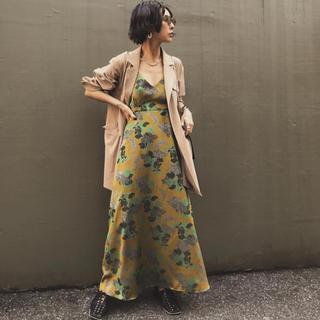 Ameri VINTAGE - BERRY JACQUARD DRESS