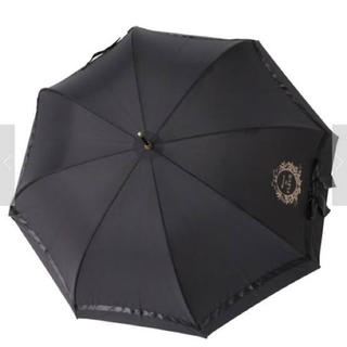 メゾンドフルール(Maison de FLEUR)の【値下げ】サテンビックリボン長傘(傘)