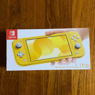 Nintendo Switch - 新品未開封 Nintendo Switch Lite 本体 イエロー