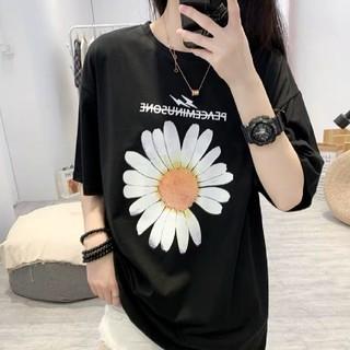 ZARA - 韓国トレンドフラワー ストリート系 夏のTシャツ トップス レディース 即日発送