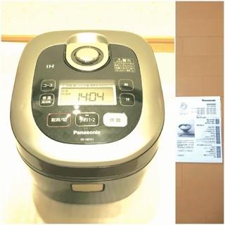 パナソニック(Panasonic)の(大幅値下げ) 炊飯器 パナソニック SR-HB101 5.5合炊き(炊飯器)