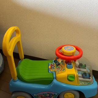 アガツマ(Agatsuma)のトーマス 車 ビジーカー 手押し車(手押し車/カタカタ)