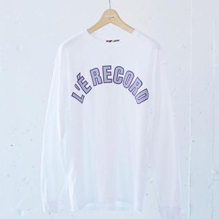 """イズネス(is-ness)のイズネス 別注 """" LE RECORD """" TEE(Tシャツ/カットソー(七分/長袖))"""