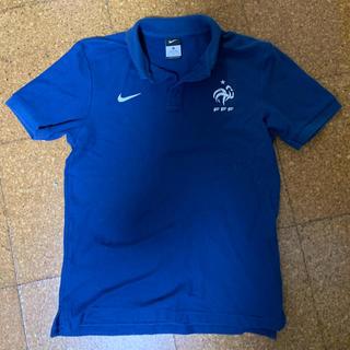 NIKE - 2015-16  フランス代表 ホームユニフォーム ポロシャツ ナイキ Mサイズ