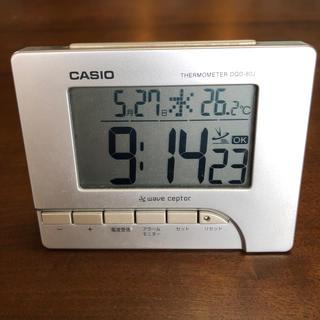 カシオ(CASIO)のカシオ デジタル電波目覚まし時計(置時計)