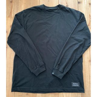 1LDK SELECT - Ennoy NAME L/S TEE ブラック XL