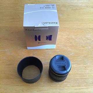 フジフイルム(富士フイルム)の【美品】カムラン Kamlan FS 28mm F1.4 Xマウント(レンズ(単焦点))