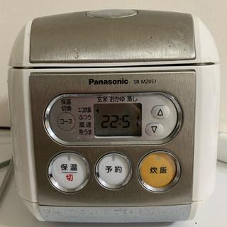 Panasonic - 電子ジャー炊飯器 SR-mz051 白(6/1以降発送)