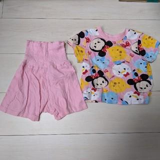 ディズニー(Disney)のツムツム80パジャマ 美品(パジャマ)