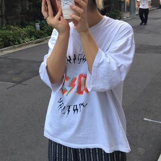スタイルナンダ(STYLENANDA)のopen the door(Tシャツ(長袖/七分))