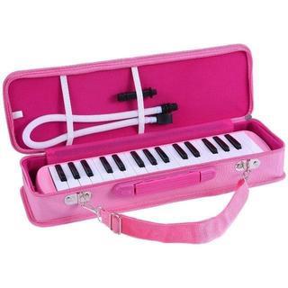 鍵盤ハーモニカ 32鍵 ピアノスタイル マウスピースクリーニングクロスキャリーケ(オーボエ)