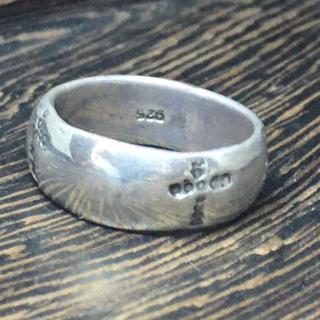 クロス 甲丸 十字架 シルバー925 クリスチャンリング  銀 指輪(リング(指輪))