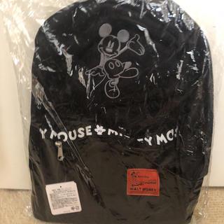 ディズニー(Disney)のディズニー ミッキーマウス 刺繍ロゴテープリュック(リュック/バックパック)