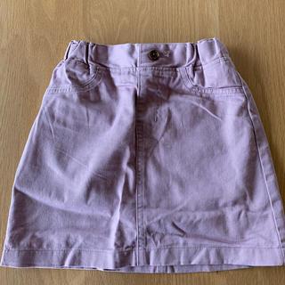 ジーユー(GU)のgu スカート(パープル110)(スカート)