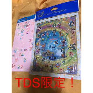 ディズニー(Disney)のディズニーシー10周年限定シール(シール)