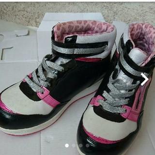 24㌢★moonstar★女の子用冬靴(スニーカー)