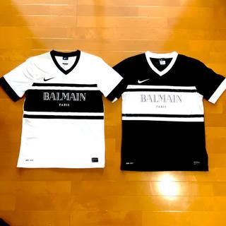 バルマン(BALMAIN)のバルマン  NIKE DRI-FIT シャツ(Tシャツ/カットソー(半袖/袖なし))
