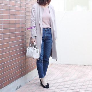 ジーユー(GU)の新品タグ☆ GU リブニット S 2色セット(ニット/セーター)
