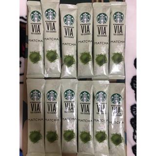 スターバックスコーヒー(Starbucks Coffee)のスターバックス VIA 抹茶 12本(茶)