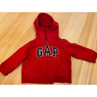 babyGAP - GAP 赤 パーカー 70cm