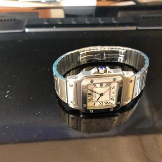 カルティエ(Cartier)のVIGGO さん専用 カルテイエ サントス カルベ LM(腕時計(デジタル))
